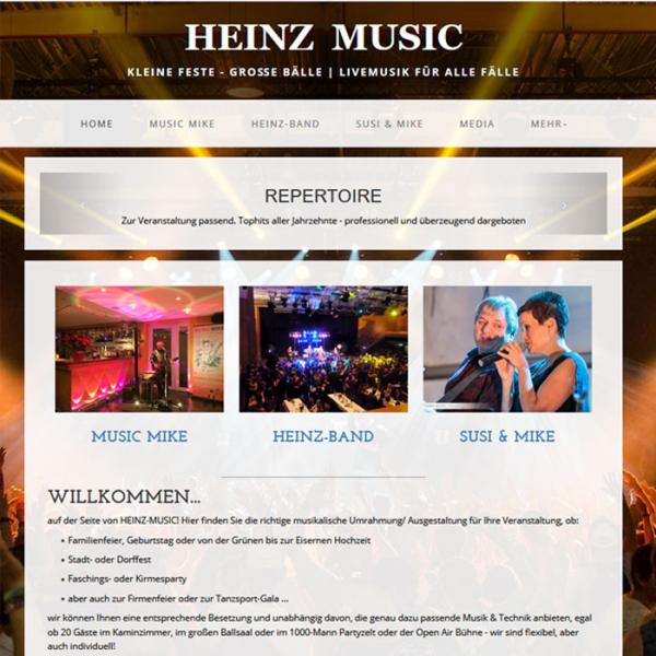 Heinz Music, Partyband